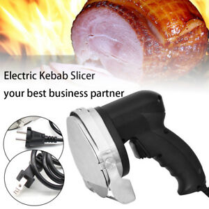 Commercial Electric Shawarma Cutter Slicer Knife Gyro Doner Kebab 110v 60hz