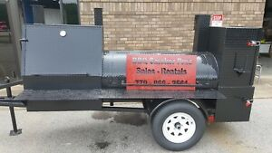Camp Chef 3 Burner Bbq Smoker 48 Grill Catering Business Mobile Food Cart Truck