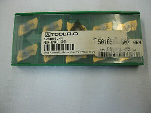 Tool Flo Flrp 4094 Gp50 Top Notch Type Carbide Grooving Inserts