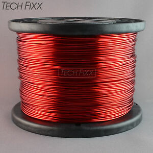 Magnet Wire 16 Gauge Enameled Copper 1252 Feet Coil Winding 9 98 Lbs Essex Red