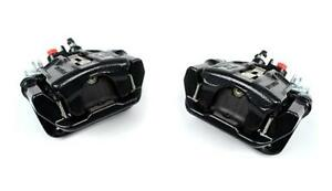 Pair New 94 04 Mustang Cobra Rear Brake Calipers Assembled With Pads Black