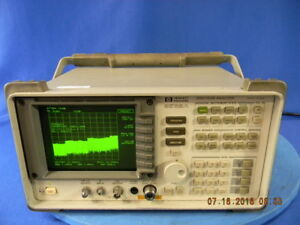 Agilent 8562a Spectrum Analyzer With Option 003