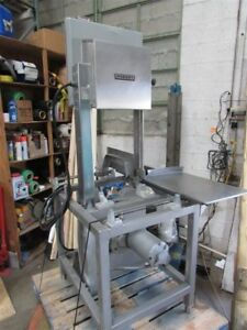 Used 3 Phase Hobart Bandsaw Meat Butcher Saw Model 5801 3hp W Missing Piece