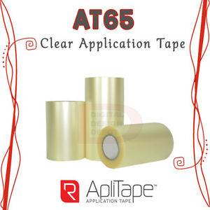 R tape At65 Clear Application Tape High Tack Adhesivevinyl Transfer 12 x300ft