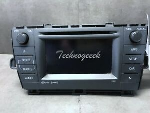 2012 2013 2014 2015 Toyota Prius Radio Display And Receiver 86140 47060 57032