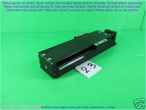Thk Kr33a Linear Stage As Photo Pitch 10mm Stroke100 Sn 2538