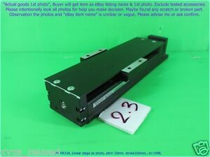 Thk Kr33a Linear Stage As Photo Pitch 10mm Stroke100 Sn 1498 D m Mov