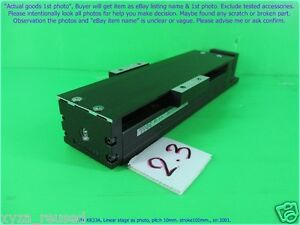 Thk Kr33a Linear Stage As Photo Pitch 10mm Stroke100 Sn 3001 D m Pgp