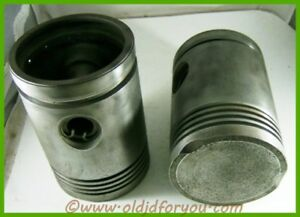 A3435r John Deere A 60 045 Pistons Wrist Pins And Keepers Cast Iron Gas