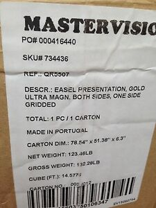 Mastervision Heavy duty Magnetic Reversible Easel Qr5507