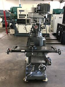 Tree Model 2uvrc Vertical Milling Machine With Dro Tooling