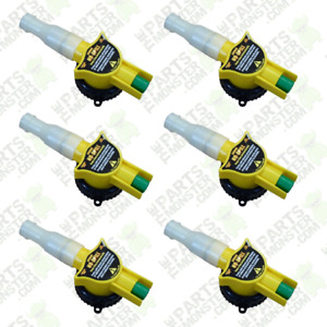 6 Pack No spill Replacement Gas Can Nozzle Spouts Fits All No Spill Cans