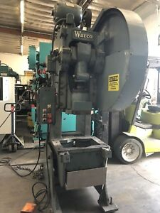 Warco 50 Ton Obi Punch Press Air Clutch