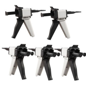 Impression Mixing Gun Dispenser Dental 1 1 2 1 For 3m Dentsply Kerr 5 Pcs