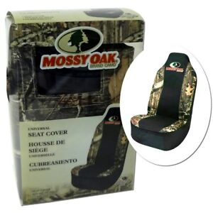 Mossy Oak Universal Camo Car Automotive Bucket Seat Cover Break Up Infinity New