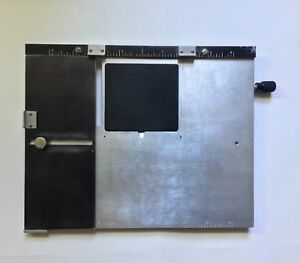 Kingsley Machine Extension Base plate 8 X 10 Inch Hot Foil Stamping Machine