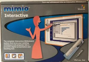 New Mimio Interactive Virtual Ink 600 0045 Whiteboard System