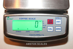 Digital Steel Scale 1200 X 0 1 Gram 2 6 X 0 0002 Lb Meat Food Kitchen Fruit New