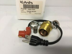 Kubota Block Heater Part 70000 73274