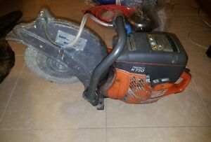 Husqvarna Partner K750 Concrete Cement Demo Cut Off Saw Good Condition