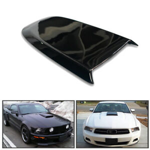 Gt V8 Racing Hood Scoop For 2005 2009 Ford Mustang Replace Abs Plastic Newly