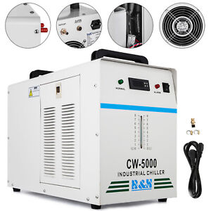 Cw 5000dg Industrial Water Chiller 6l Tank Temperature Cnc Laser Novel Design