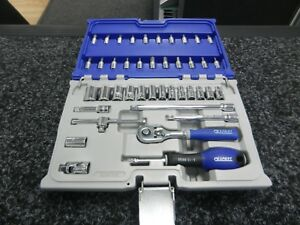 Expert By Facom E030702 42 Piece 1 4 Drive Metric Socket Set Includes Case New