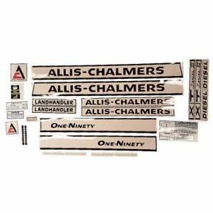Decal Set For Allis Chalmers 190xt