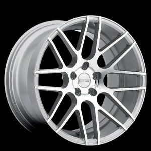 Mrr Gf7 19x9 5 10 5 5x114 3 Et22 Machined Silver Wheels Fit Ford Mustang 1994 04