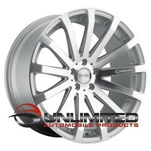 Mrr Hr9 18x8 5 Et35 5x114 3 Silver Wheels Rims Fit Honda Accord Civic Prelude