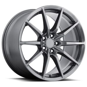 Mrr M350 19x10 11 5x114 3 Graphite Wheels Fit Ford Mustang Shelby Gt 500 2005