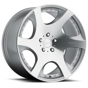Mrr Vp3 20x9 10 5 5x114 3 Et20 Machined Silver Wheels Fit Ford Mustang 94 2004