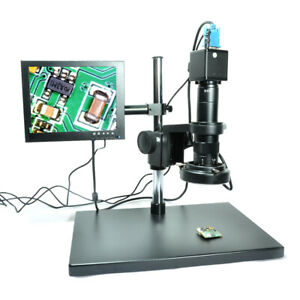 1080p Hd Vga Industry Camera 2mp Digital Microscope Pcb Inspection Repairing