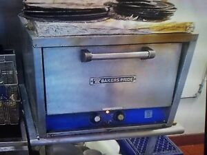 Bakers Pride Double Deck Counter Top Electric Pizza Deck Oven