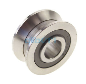 2pcs 6 30 8mm V Groove Width 5 5mm Guide Pulley Sealed Rail Ball Bearings