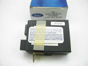 Ford F4xy 14b001 a Keyless Remote Entry Processor Module For 1994 Quest Villager