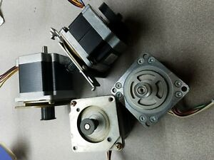 Lot Stepper Motors Nema 23 Cnc Mill Robot Reprap 3d Printer