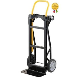 Harper Hand Truck Push Cart 700 Lb Capacity Convertible Moving Dolly Trolley
