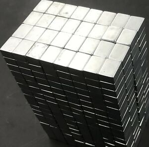 25 50 100 1 2 3 8 1 4 Neodymium Block Magnets N50 Super Strong Rare Earth