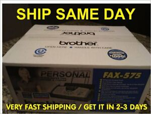 Brand New brothers Fax 575 Plain Paper Phone Copier Machine factory Sealed