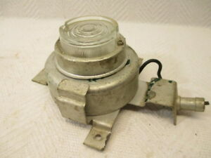 Vintage Reel Out Emergency Trunk Lamp Auto Accessory Gm Car Light Hobbs 332017