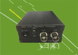 10mhz Ocxo Frequency Reference Clock Bnc q9 With Power Adapter
