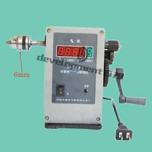 Fy 130 Electronic Manual Counting Winding Winder Machine Modified 6mm 220v