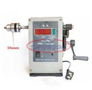 220v Fy 130 Electronic Manual Counting Winding Winder Machine Modified 10mm