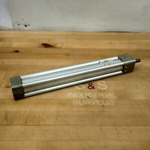 Rexroth Tm811000 0120 Pneumatic Cylinder 1 1 2 Bore 12 Stroke 150 Psi