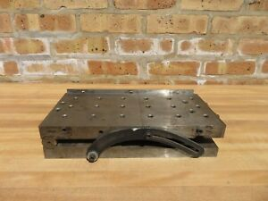 12 X 6 Machinist Precision Sine Plate Jig Fixture Tapped Holes