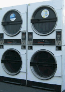 Used Speed Queen Std32dg 30 pound Stack Commercial Gas Coin Dryer