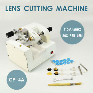 Cp 4a 110v Optometry Eyeglass Optical Lens Cutter Cutting Milling Machine