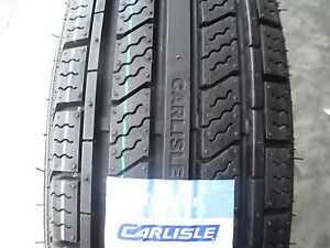 2 New St 205 75r15 Carlisle Radial Hd Trailer Tires 8 Ply 2057515 75 15 R15 D