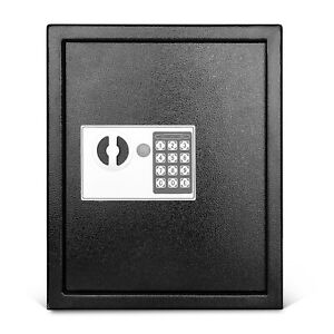 Key Cabinet With Digital Lock Wall Mounted 40 Key Security Box Storage Safe